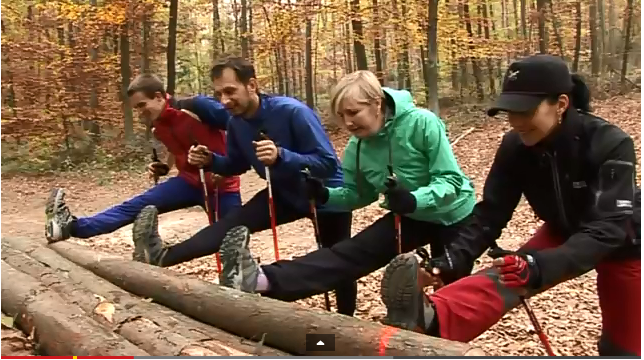 Nordic Walking promo video týmu Severské chůze