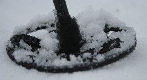 Zimni kolečko na sněžnice