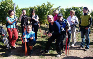 Nazdravi u vinohradů Hnanice 2013