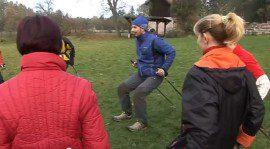 Nordic walking klip pro potenciální instruktory