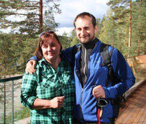 "Sirpa Arvonen, ""máma"" Nordic Walking."