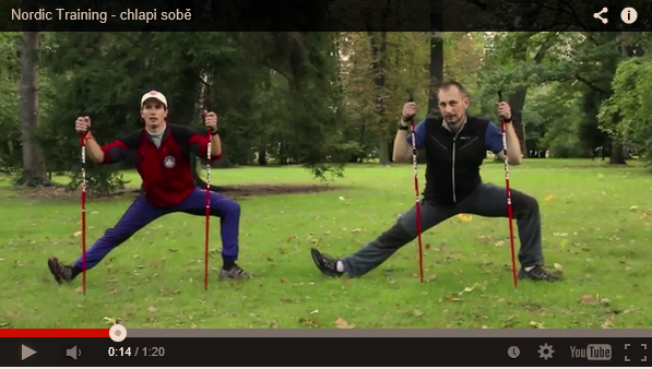Nordic training – chlapi sobě