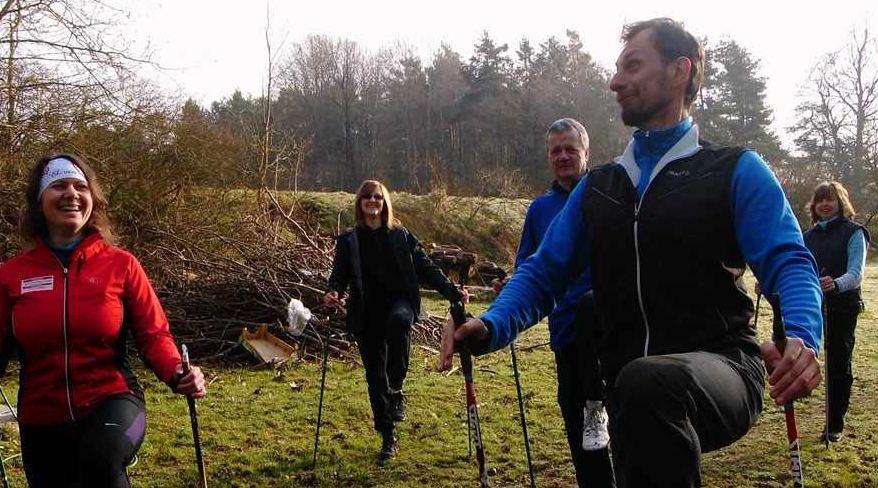 Napsali jste nám o Nordic Walking s námi