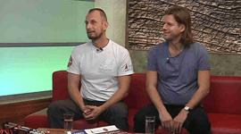 Nordic Walking v Brněnské televizi, listopad 2015