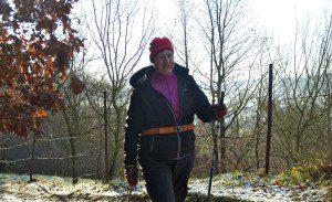 Zdenka Netopilova, luhacovice nordic walking wellness
