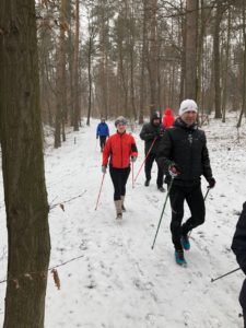zimni nordic walking