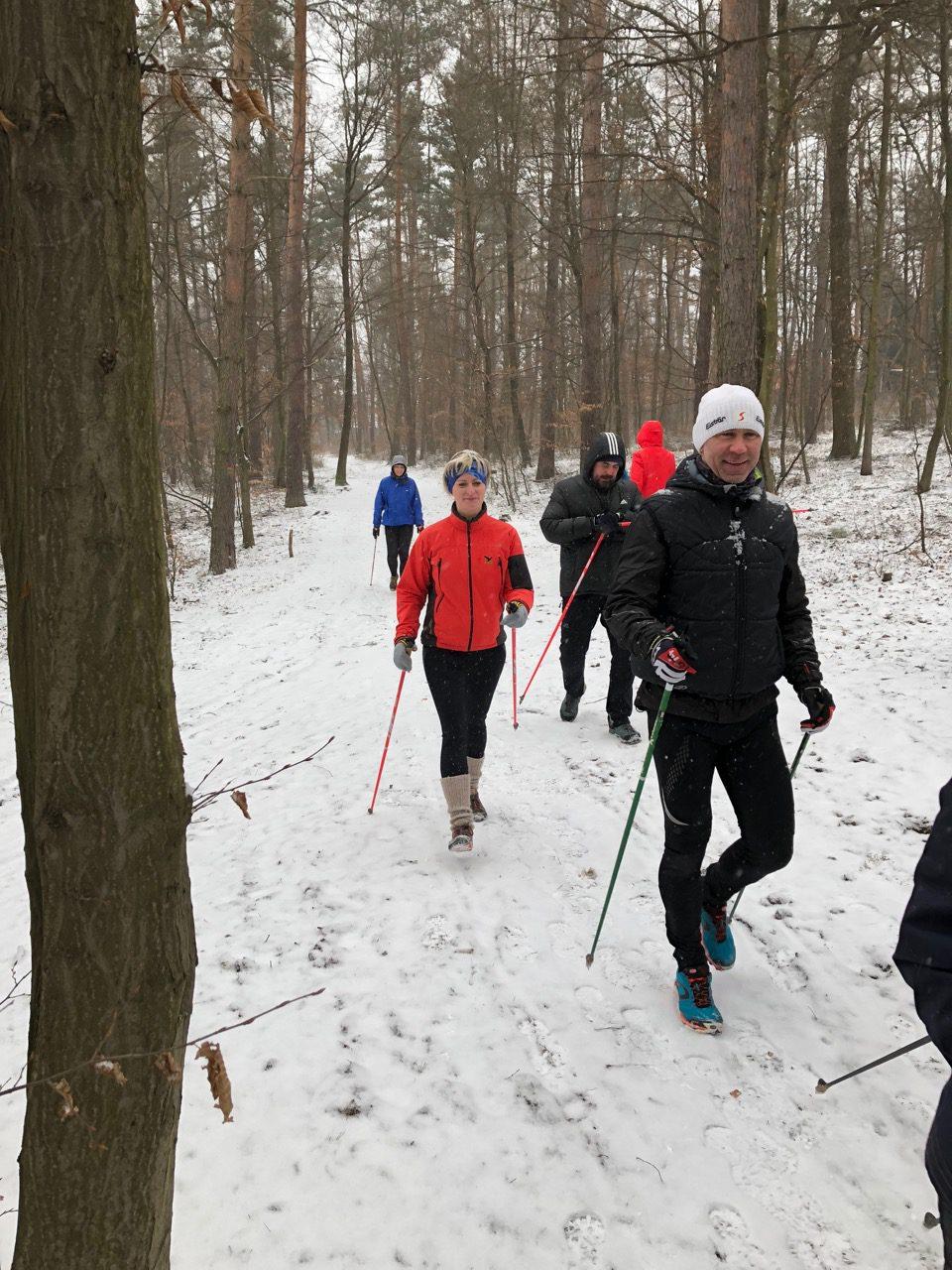 Zimní kurzy nordic walking 2020!