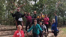 Nordic walking kurz Praha, 22.9.2018