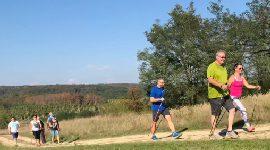Nordic walking program pro firmu, Hnanice u Znojma, 20.9.2018
