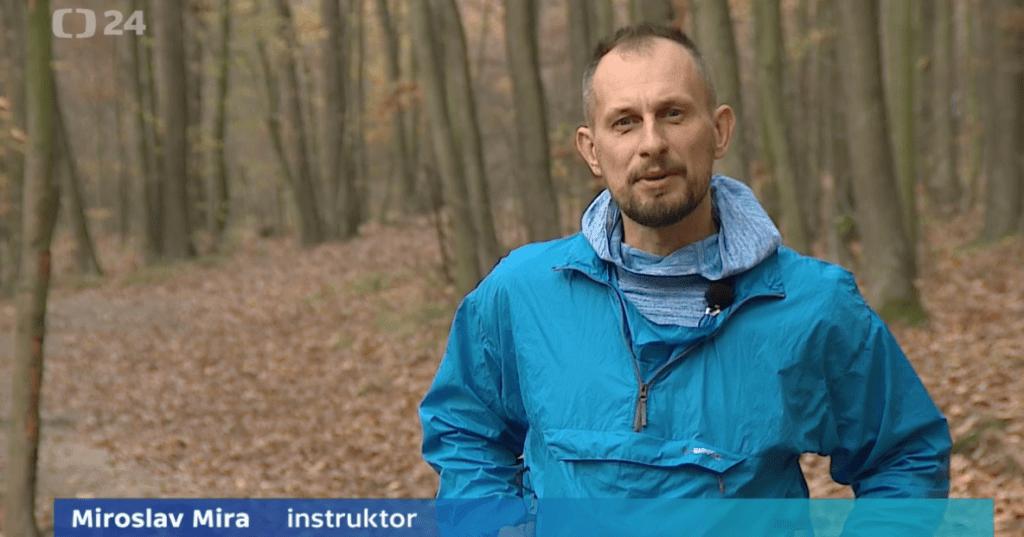 Forest walking park - Mgr. Miroslav Mira, představuje