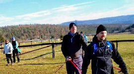 Zimní nordic walking speciál, Brno 19.1.2019