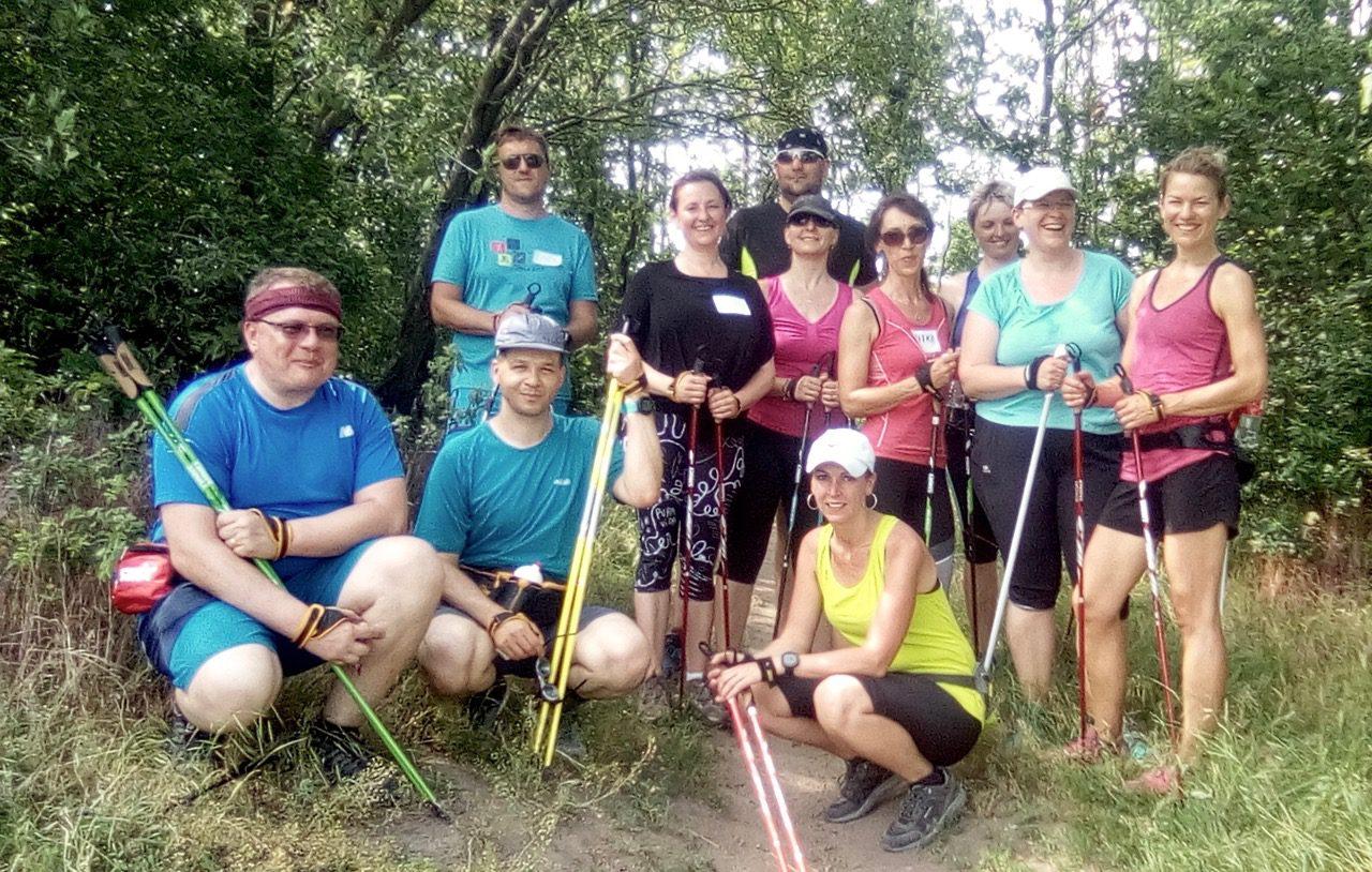 Nordic walking kurz 15.6.2019, Brno