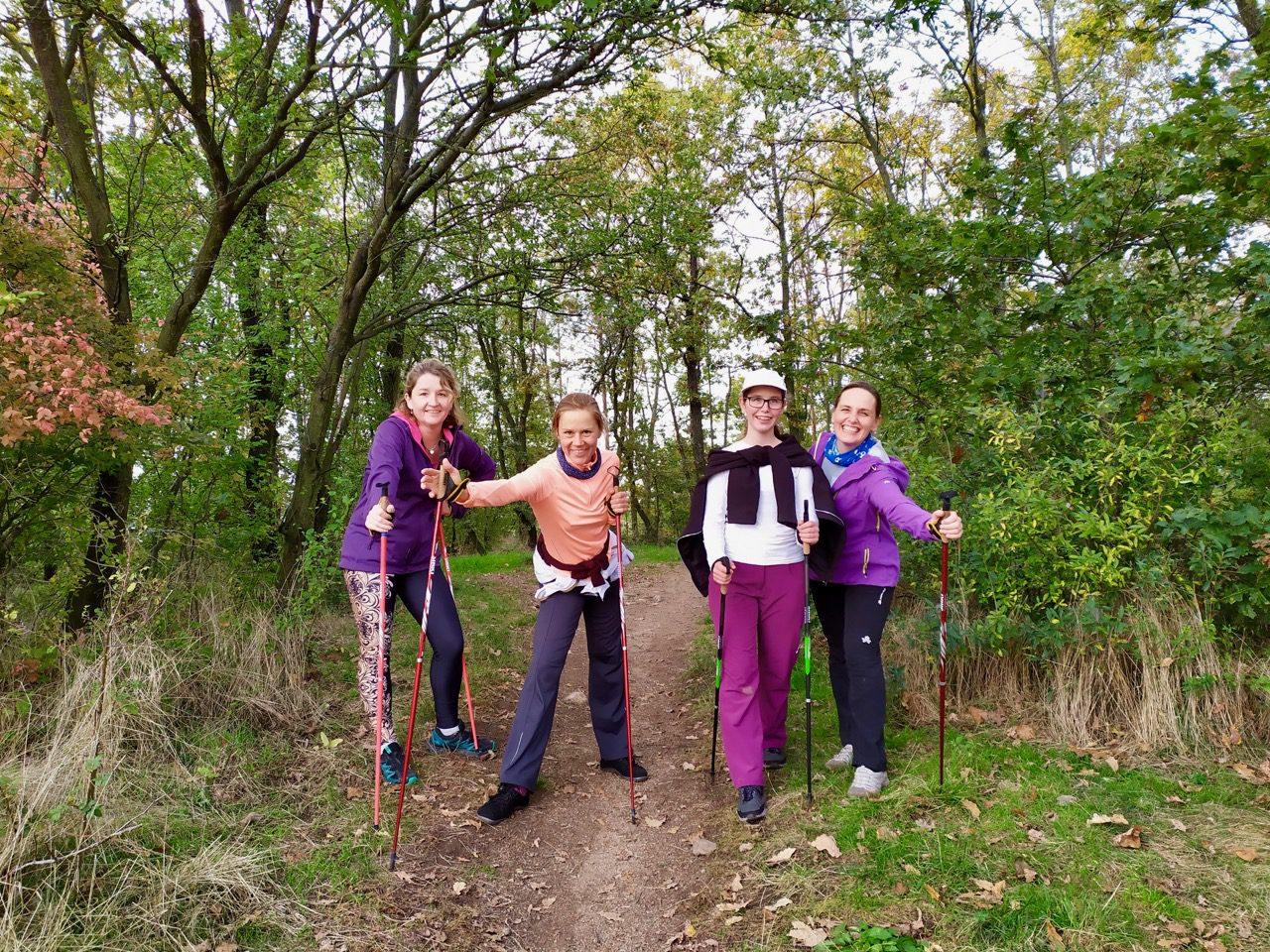 Nordic walking kurz 12.10.2019, Brno