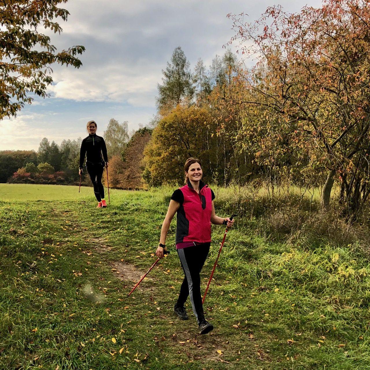 Medailonek základním kurzem nordic walking s Nordic sports, podzim 2019