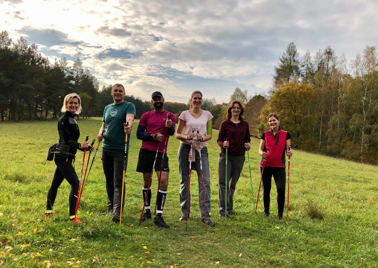 Nordic walking kurz Praha 19.10.2019