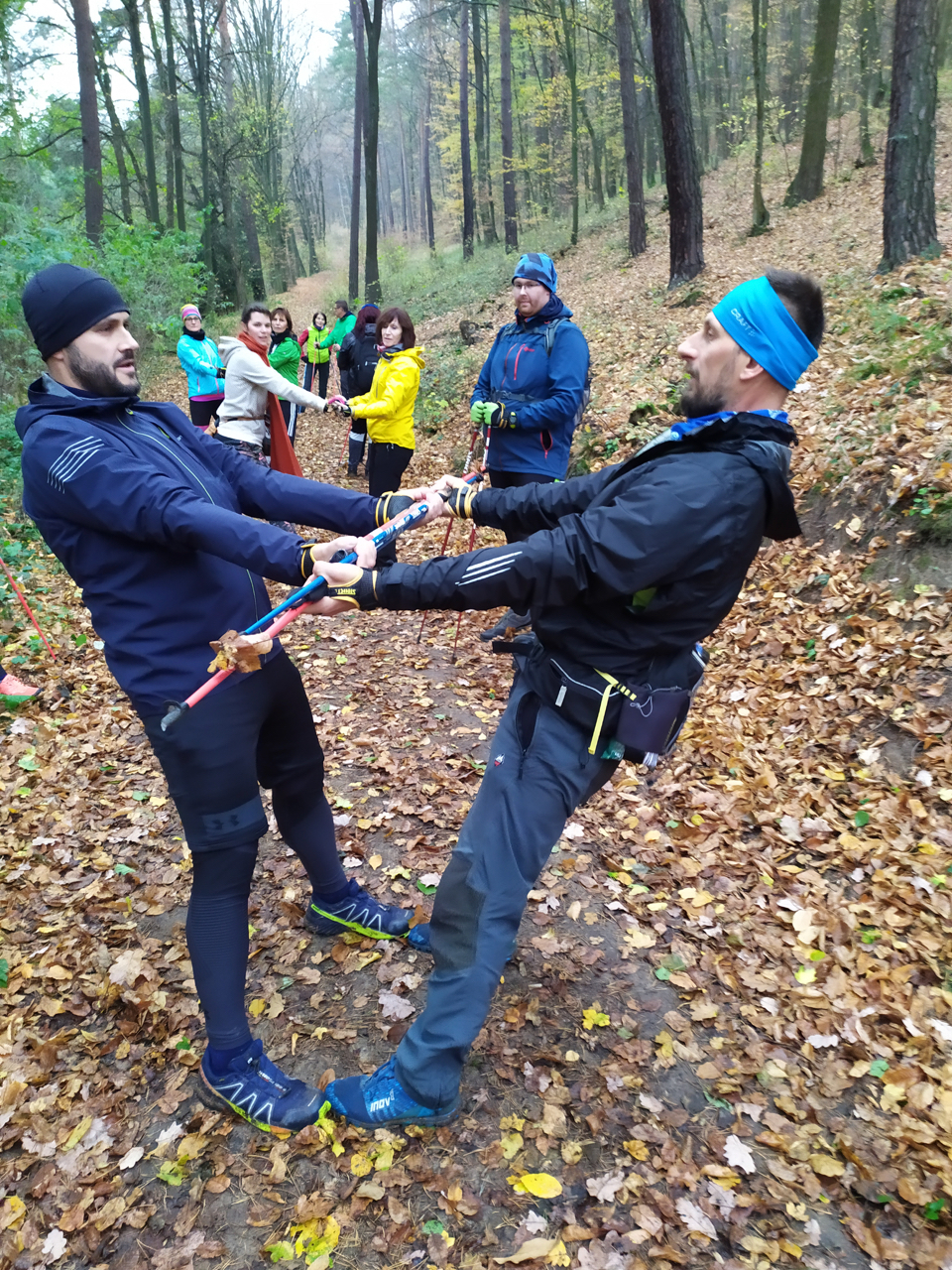 Nordic walking kurz v Brně, 2.11.2019