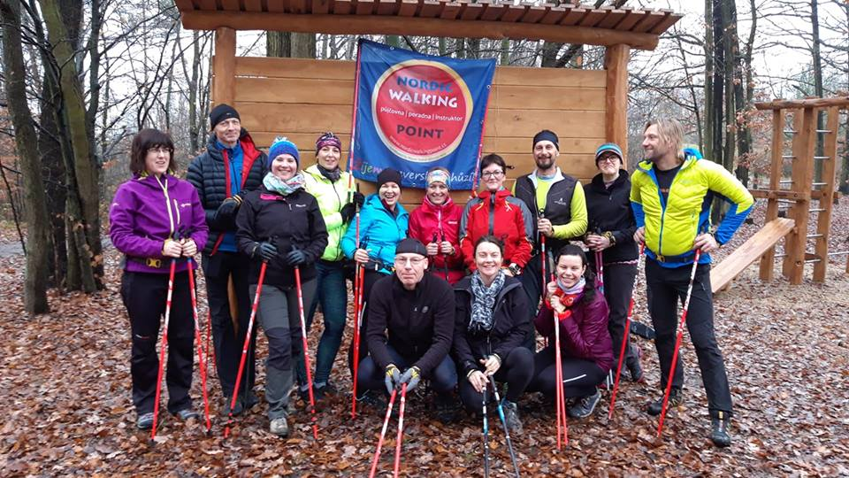 SISU #1 a instruktoři Nordic walking point