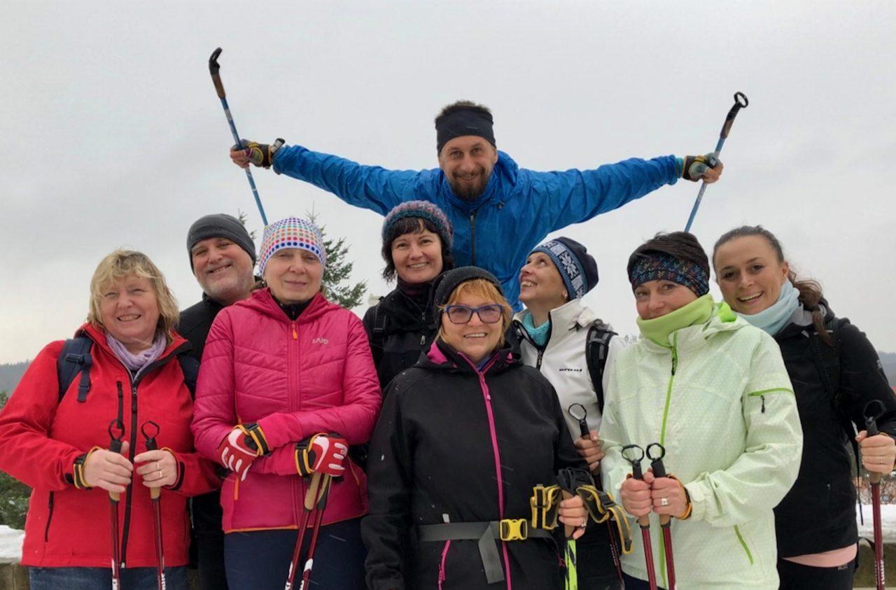 Vánoční výšlap s nordic walking do Vranova, 14.12.2019
