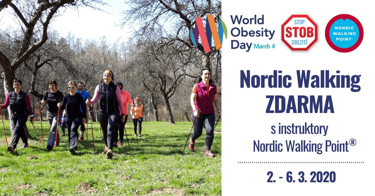 S nordic walking proti obezitě!!!