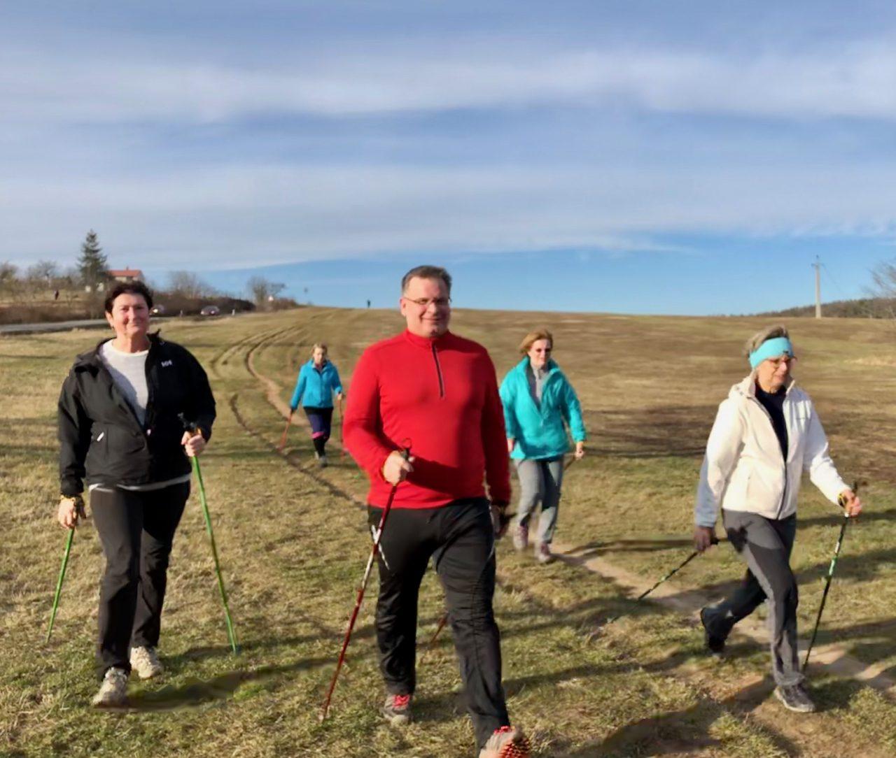 Zimní lekce Nordic walking 01-03 2020