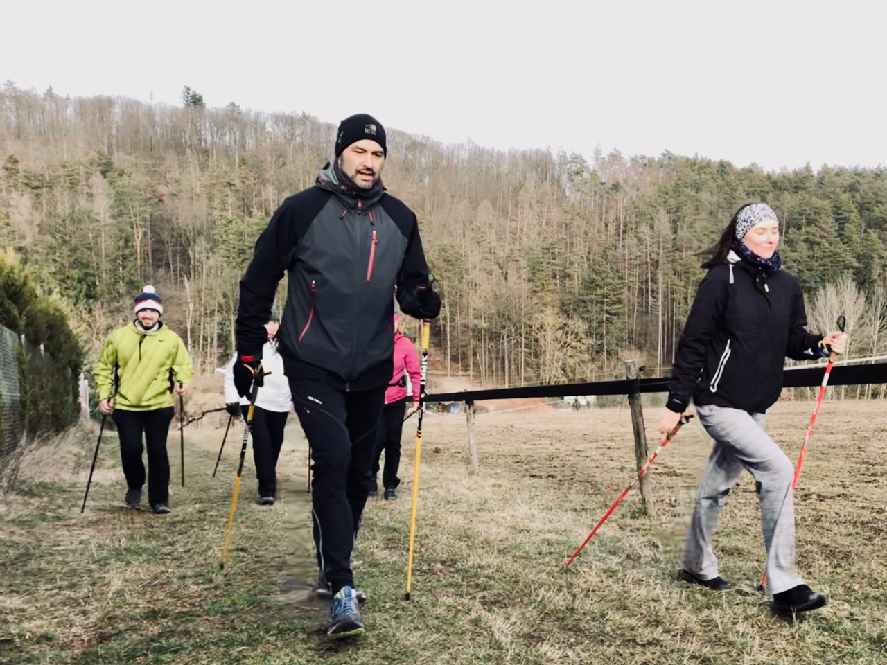 Nordic walking kurz v Brně, 29.2.2020