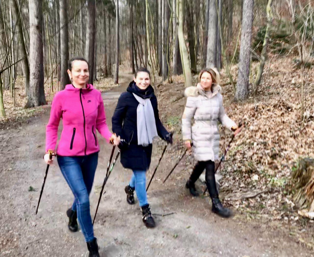 STOB klub lektoři a Nordic walking, Praha 22.2.2020