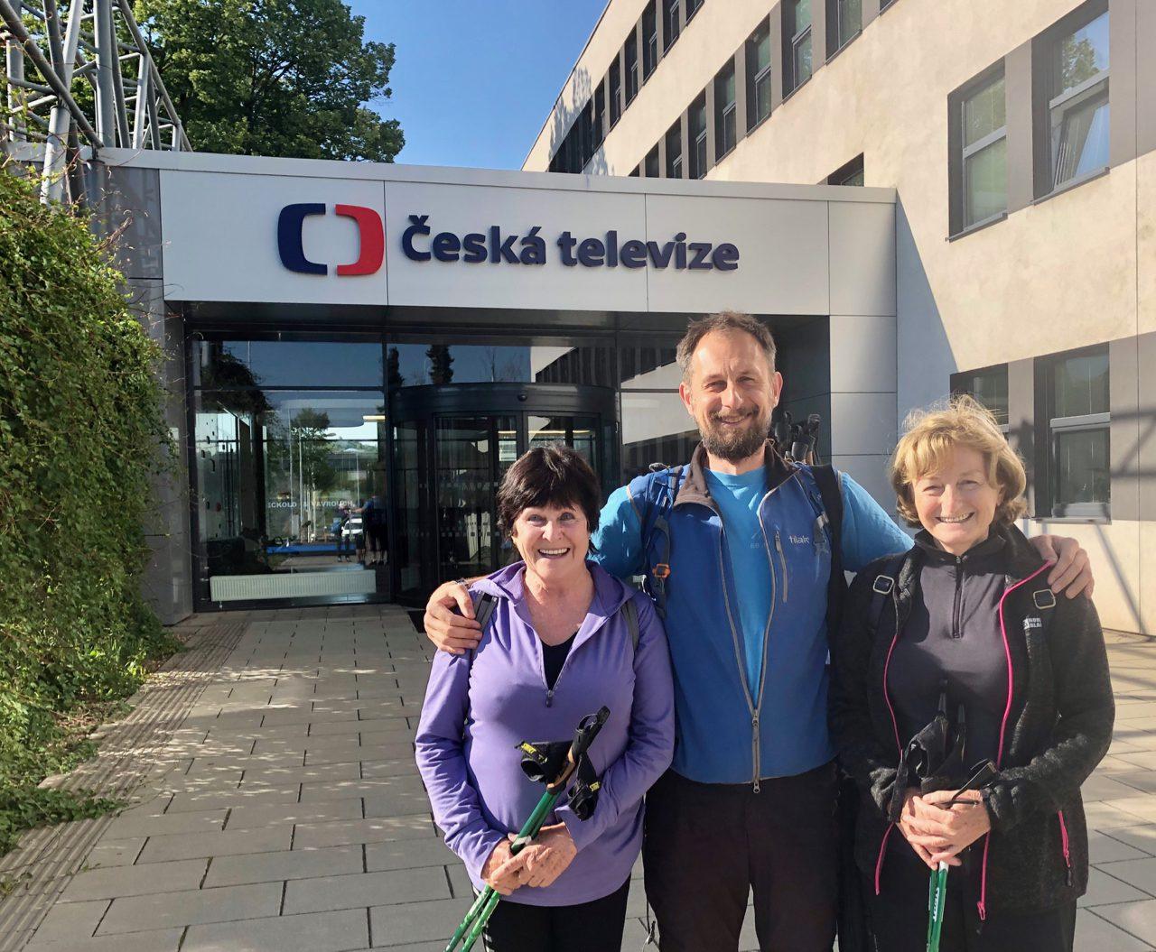 Nordic walking na ČT3 v Životě na třetí