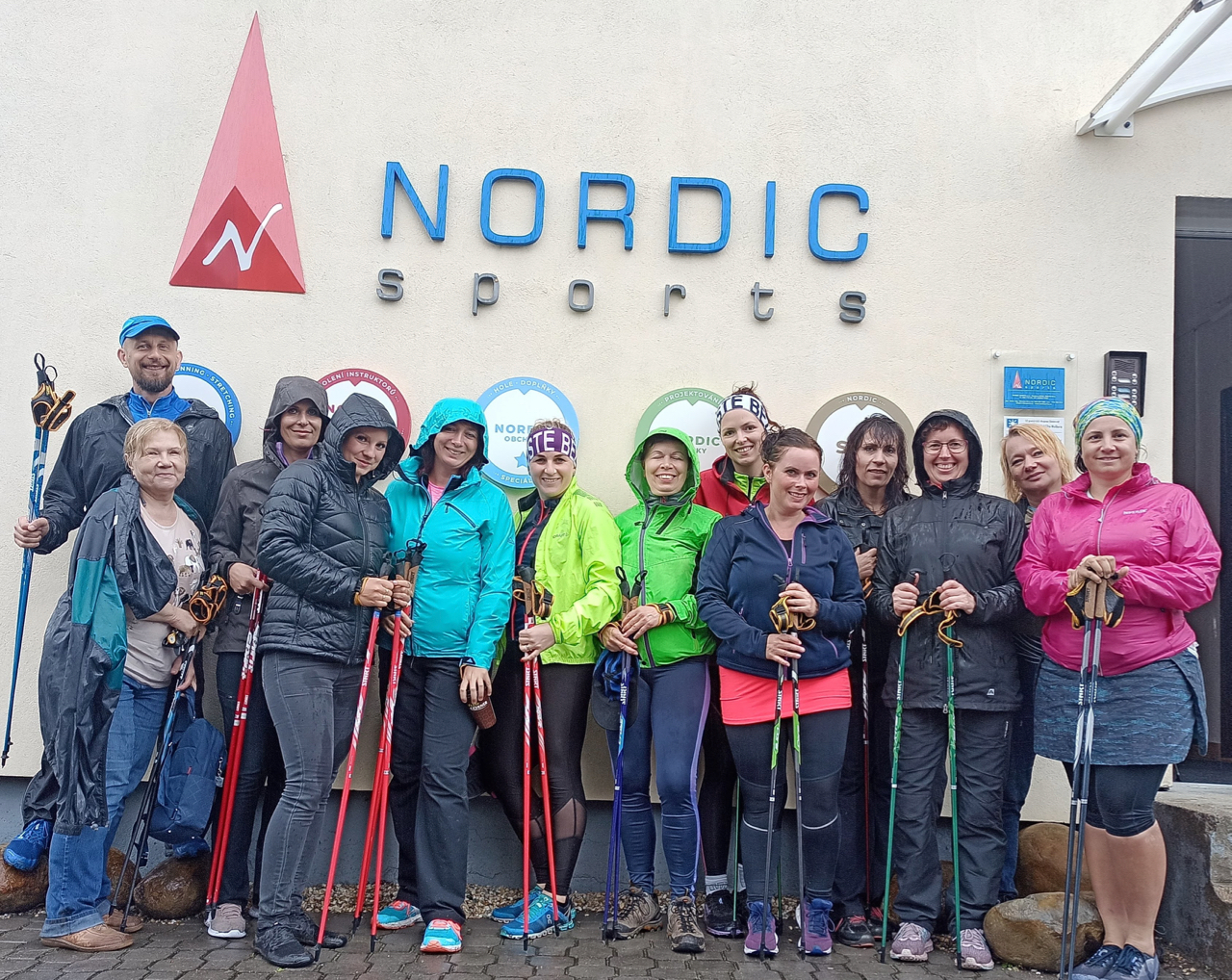 Nordic walking kurz v Brně, 11.7.2020