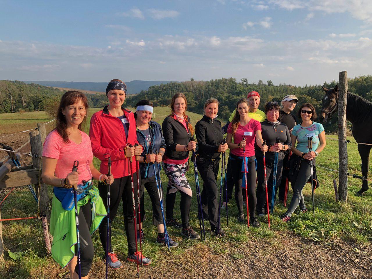 Nordic walking základní kurz 10.10. 2020