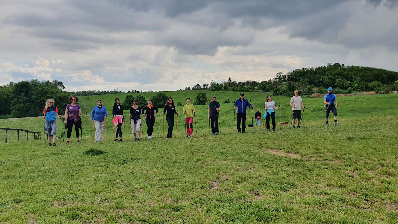 Nordic walking základní kurz 15.5.2021