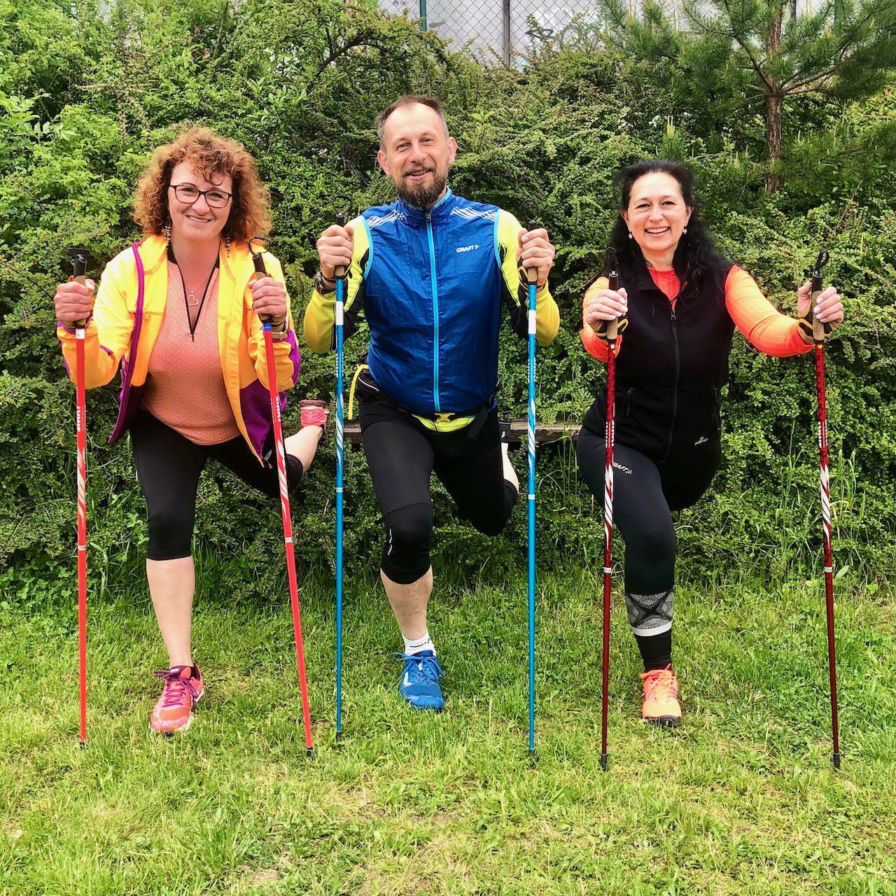 IK 2021, Instruktor kondiční chůze – Nordic walking, Brno 28.-30.5. 2021, 1. část