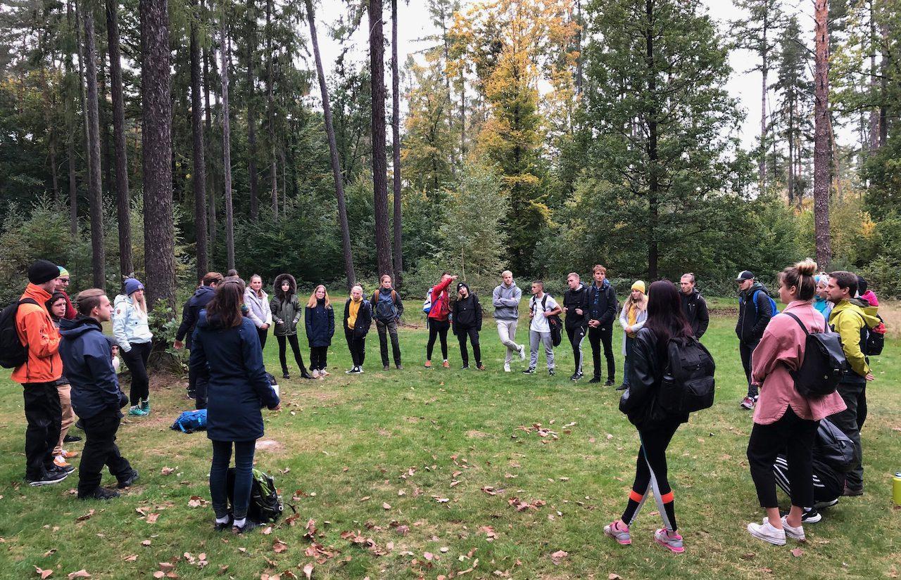 Lesní mysl pro studenty Rekreologie – UP Olomouc 11.10. 2021
