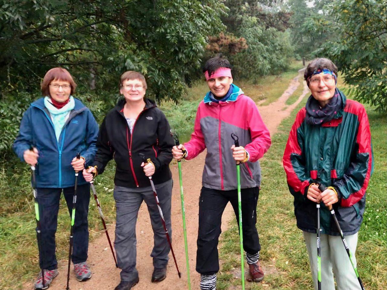 Nordic walking v severském duchu SISU, 6.10.2021